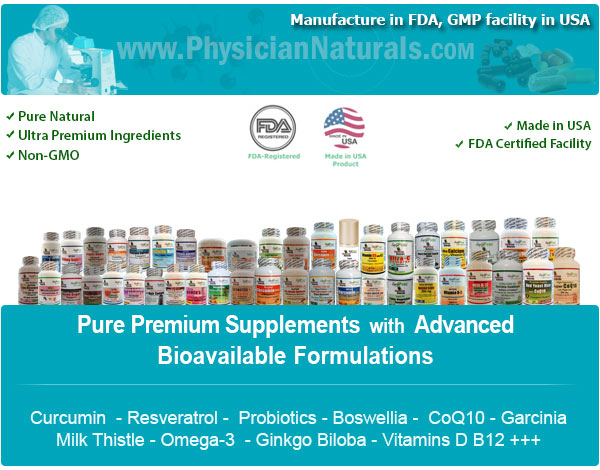 Physician Naturals Vitamins and Supplements USA